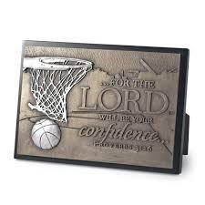 Christian Home Decor Success Basketball Sculpture Plaque Lordsart