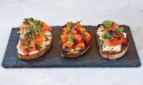 canapé toast ten tips for toast to try today fresh cup magazine