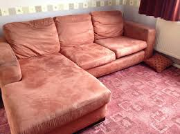 bedroom leather curved sofa and cuddler sofa