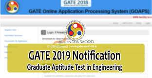 pattern of gate exam gate 2019 login registration exam dates notification syllabus