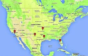 map of the united state maps tunnels unexplained booms and mysterious hums