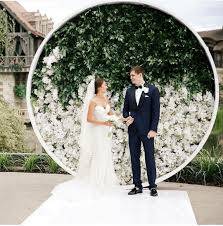 wedding photo backdrops wedding ceremony backdrops that feel fresh modern and totally