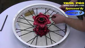 wheels motocross bikes how to lace and true a dirt bike or motorcycle rim wheel part 1