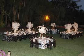 outside party interior design view black and white party themes and decor home