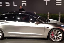 tesla model 3 tesla model 3 week elon musk on rollout configurator and model y