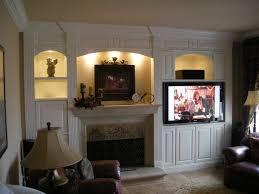 entertainment center around fireplace decoration ideas collection