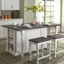 august grove kitchen island with wood top u0026 reviews wayfair supply