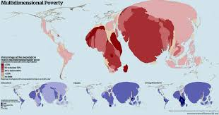 Map Of World Religions by Multiple Dimensions Of Poverty Views Of The World