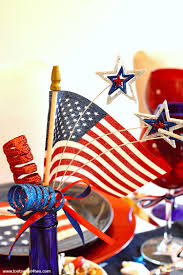 Why Is The American Flag Red White And Blue Decorating The Table For 4th Of July Toot Sweet 4 Two