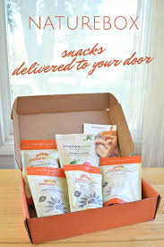 snacks delivered naturebox snacks delivered to your door mad in crafts