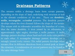 definition pattern of drainage drainage class 9