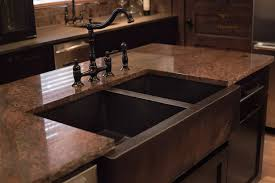 downtown dark kitchen cabinets
