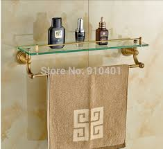 wholesale and retail promotion wall mounted bathroom shelf antique