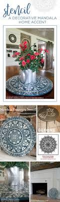 stencils for home decor stencil a decorative mandala home accent stencil stories stencil