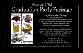 graduation packages graduation party packages jpg