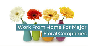 flower companies work from home taking flower orders for major companies