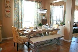 dining room sets with bench dining table bench seat dimensions cushions with back for room