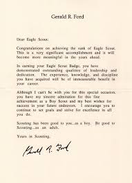 how to request congratulatory letters for your eagle scout bryan