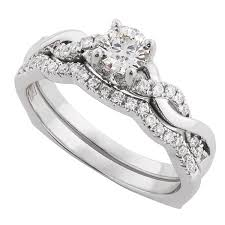 diamond wedding ring sets for ikuma canadian diamond bridal set 14k ben bridge jeweler