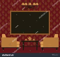 Classic Livingroom Classic Livingroom Interior Stock Vector 121250779 Shutterstock