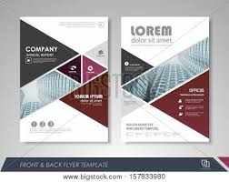 modern purple brochure design vector photo bigstock
