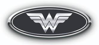 ford logo ford wonder woman overlay emblem decals