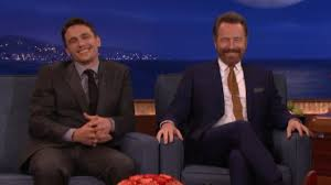 james franco kind of gifted u0027why him u0027 co star bryan cranston with
