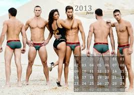 men calendar garçon model calendar 2013 men swimwear by underwears co