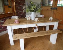 farmhouse style dining tables for classic and country home style