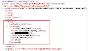 layout xml nfe 3 1 nfe outbound b2b sending the xml to the carrier dynamic