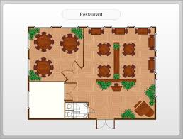 resturant floor plan restaurant floor plans software design your restaurant and