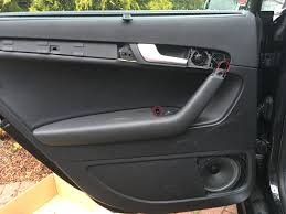 nissan murano door trim clips audi a3 s3 8p rear near side passenger door actuator replacement