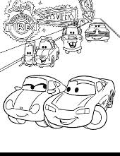 cars coloring pages sheets sally lightning mcqueen