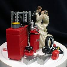 mechanic wedding cake topper car auto mechanic wedding cake topper groom tool box