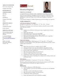 Sample Resume Pdf by Download Certified Electrical Engineer Sample Resume