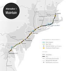 Septa Regional Rail Map Three New Visions For Northeast Rail