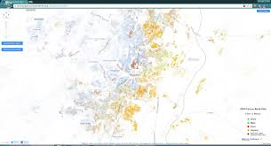 I 35 Map Has Anyone Noticed That I 35 Is Basically A Segregation Line I