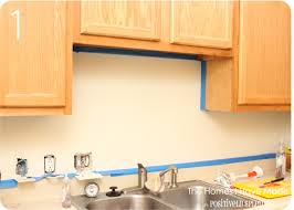 Kitchen Backsplash Paint by Painting Kitchen Tile Backsplash Ve Tiled Backsplashes Before In