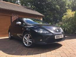facelift 2010 seat leon fr 2 0 tdi 170bhp manual black in