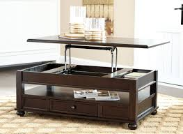 ashley lift top coffee table t934 9 signature by ashley barilanni lift top cocktail table dark
