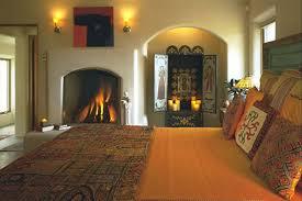 Santa Fe Style Interior Design by Bedroom Interior Design Construction Custom Home