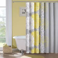 yellow bathroom decorating ideas floor to ceiling curtain stone