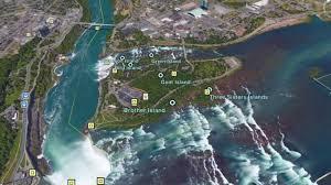 Niagra Falls Map Niagara Falls Canada Side Vs Usa Side Youtube