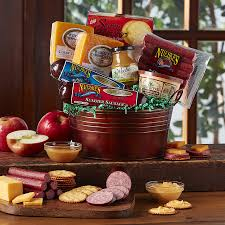 gift baskets for couples meat gift baskets award winning gift baskets nueske s