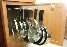 kitchen pan storage ideas pan storage rack pan lid storage size of kitchen pan lid