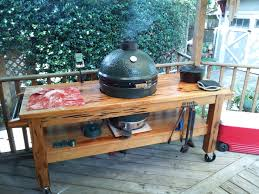 xl big green egg table plans pdf my home made egg table pecky cypress big green egg egghead