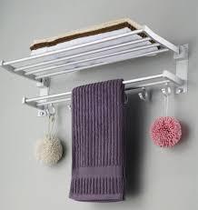 Bathroom Cabinet With Towel Rack Bathroom Interesting Bathroom Towel Rack With Wooden And Metal