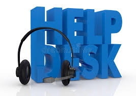 concept of help desk service stock ilration image 26248414