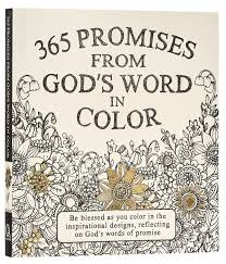 amazon com 365 promises from god u0027s word in color scripture and