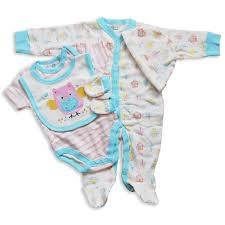 luxury newborn baby layette 5 piece designer gift set box by lily